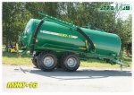 Машина для внесения жидких органических удобрений МЖУ-16